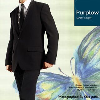 Buy Purplow Narrow Lapel Business Suit 1004720185