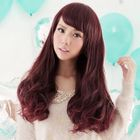 Long Full Wig - Wavy Burgandy - One Size от YesStyle.com INT