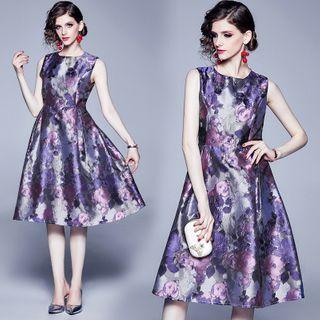Sleeveless | Floral | Dress