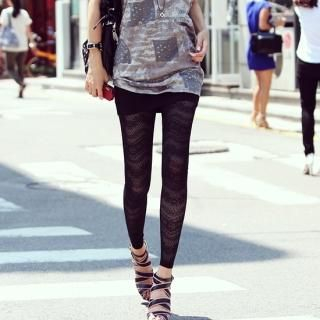 Buy REDOPIN Lace Leggings 1022838378