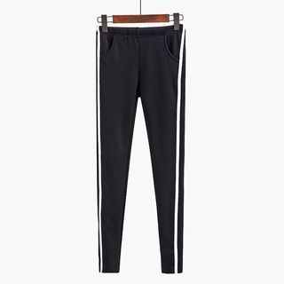 Contrast Trim Sweatpants 1054869042