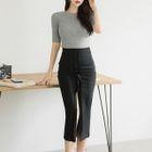 Set: Knit Top + Pencil Skirt 1596