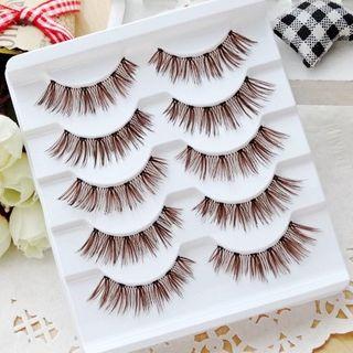 Image of 5 Pairs Set: False Eyelashes