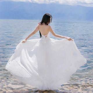 Halter Maxi Dress 1059749188