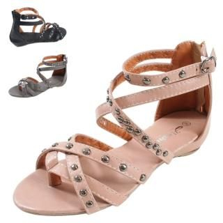 Buy Blingstyle Shoes Studded Sandals 1022752343