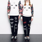 Couple Matching Floral Panel Pullover от YesStyle.com INT