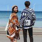 Couple Matching Patterned Sweater / Long Knit Cardigan 1596