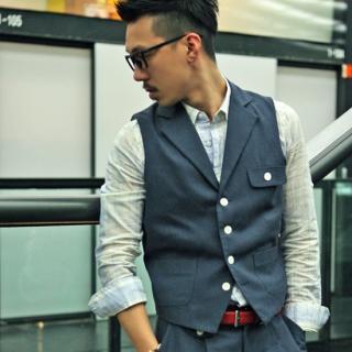 Buy YOON-GOON Line Vest 1023048012