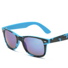 Square Sunglasses Type 9 - Pink Camouflage Frame  Purplish Red Lens - One Size от YesStyle.com INT