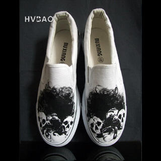 Picture of HVBAO Devil in the Dark Slip-Ons 1019658932 (Slip-On Shoes, HVBAO Shoes, Taiwan Shoes, Womens Shoes, Womens Slip-On Shoes)