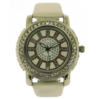 crystal-wrist-watch-silver-gold-one-size
