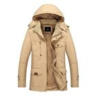 Fleece-Lined Hooded Zip Jacket 1596