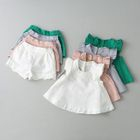 Kids Set: Sleeveless Frilled Top + Shorts 1596