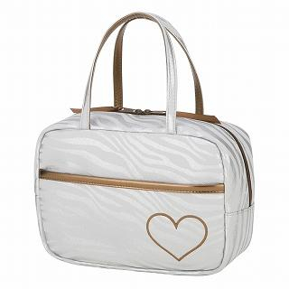 Buy ROOTOTE Heart Zebra Print Handbag [AVION DE PAPIER - Gloss-B] Light Gray – One Size 1022777265
