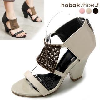 Buy HOBAK girls Faux-Leather Sandals 1022848365