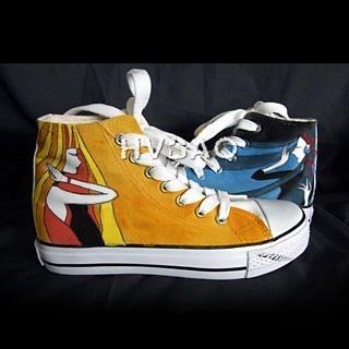 Buy HVBAO Long Hair Girl High-Top Sneakers 1012143924