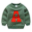 Kids Letter Long-Sleeve Sweatshirt 1596