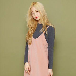 Mock-Neck Long-Sleeve T-Shirt 1054041105