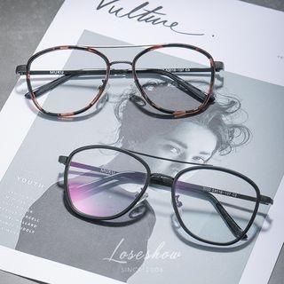 Double Bridge Aviator Style Glasses 1060466335