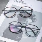 Double Bridge Aviator Style Glasses 1596
