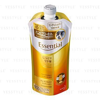Kao - Essential Auto Smooth Technology Conditioner (Moist) (Refill) 340ml 1062373035