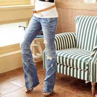 Buy Wonderland Slashed Jeans 1022998256