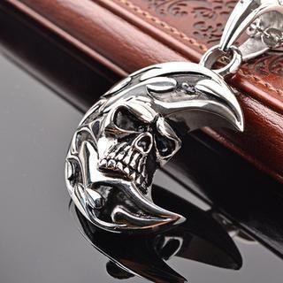Skull Titanium Steel Necklace