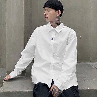 Image of Applique Plain Shirt