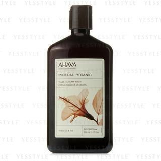 Mineral Botanic Velvet Cream Wash - Hibiscus and Fig (Very Dry Skin)
