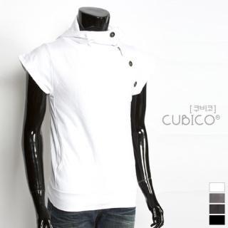 Buy CUBICO Zip Detail Hooded Pullover 1022772751
