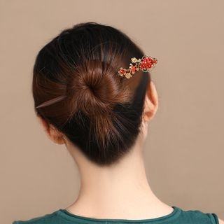 Flower Wooden Hair Stick 1061956109