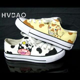 Buy HVBAO Giraffe & Cow Sneakers 1014440571