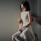 Sleeveless Sheath Lace Dress / Lace Top 1596
