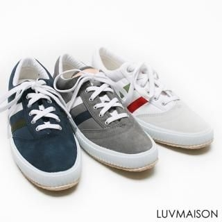Buy LUVMAISON Faux-Leather Sneakers 1022511817