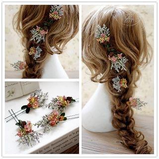 Rhinestone Hair Pin Set 1060291323