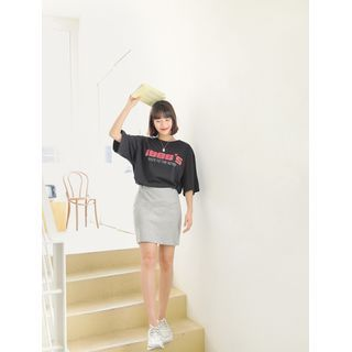 Image of 1988s Printed Cotton T-Shirt