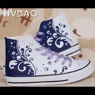 Picture of HVBAO Waves High-Top Sneakers 1016166003 (Sneakers, HVBAO Shoes, Taiwan Shoes, Womens Shoes, Womens Sneakers)