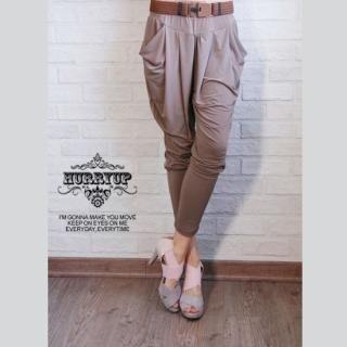 Buy HURRY UP Low-Crotch Pants 1023039235