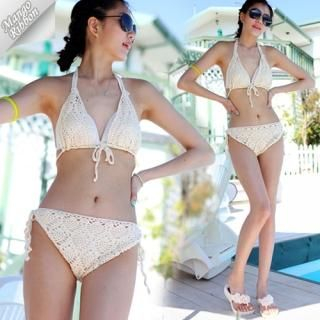 Buy Mango Ribbon Set: Crochet Bikini + Inner Bikini 1022980371