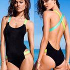 Color-Block Swimsuit 1596