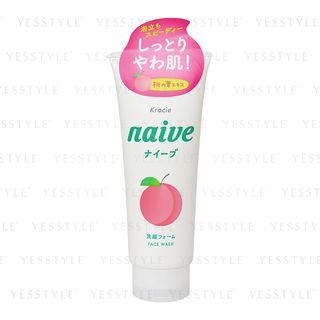 Kracie Naive Facial Cleansing Foam (Peach)