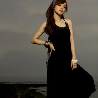 Picture of I'Miusa Halter Maxi Dress 1022744505 (I'Miusa Dresses, Womens Dresses, Taiwan Dresses)
