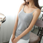 Padded Camisole / Plain Tank Top 1596