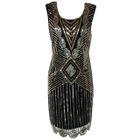 Sleeveless Sequined Dress 1596