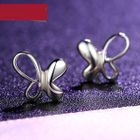 Butterfly 925 Sterling Silver Stud Earrings от YesStyle.com INT
