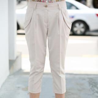 Buy ZOAQT Cropped Baggy Pants 1022777038