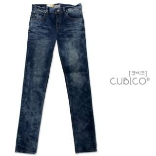 Picture of CUBICO Washed Skinny Jeans 1022527761 (CUBICO, Mens Denim, Korea)