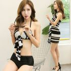 Striped Bikini Set 1596
