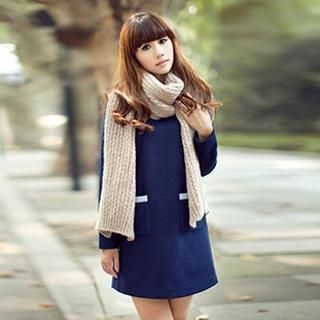 Ribbed Knit Scarf 1035607337