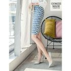 Patterned Pencil Skirt 1596